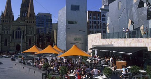 Melbourne Cafe at Federation Square